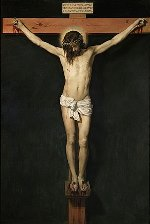 """Christ Crucified""Painted by Velázquez"