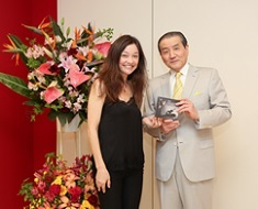 "Violin Concert by Ms. Lina Tur Bonet was held as one part of ""Spain in the Sight of Toshima Yasumasa"" Exhibition."